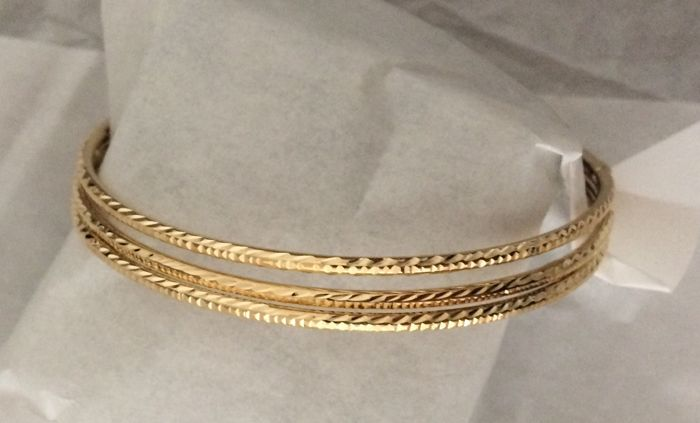 Made in Italy - 18 kt. Yellow gold - Bracelet