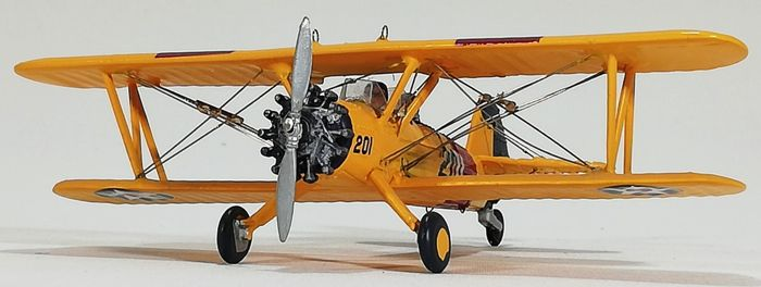 Boeing Stearman PT-17, from the US NAVY, Scale model - Zamac - Catawiki