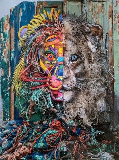 Bordalo II - Half Lion Copy