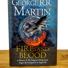 Signed, George R.R. Martin - Fire and Blood (A Game of Thrones History) - 2018