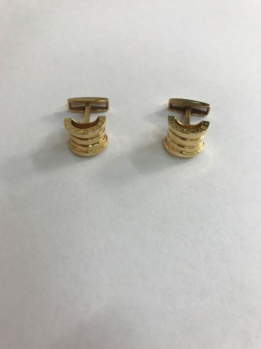 Bvlgari - 18 kt. Yellow gold - Cufflinks