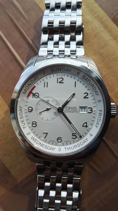 "Oris - ""NO RESERVE PRICE"" - Ref. 7529 - Heren - 2000-2010"