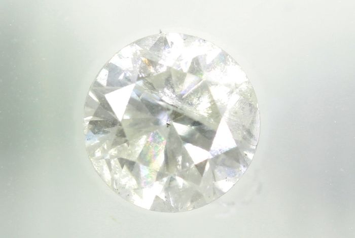 Diamant - 0.69 ct - Briljant - G - P2