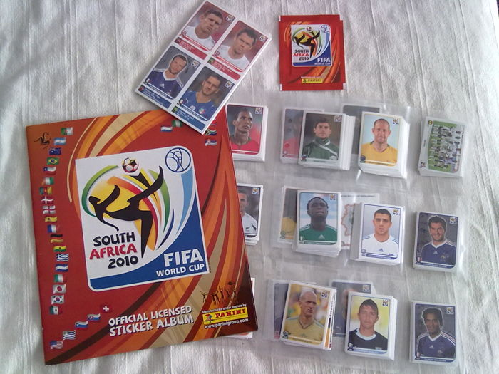 c3a1669c6 Panini - Blank album + all stickers not glued + update sticker World Cup  South Africa