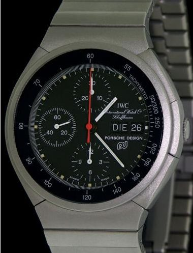 IWC - Like new Porsche Design Chronograph Titan & 2 years IWC  Inter. Warranty - 3700 - Homem - 1990-1999