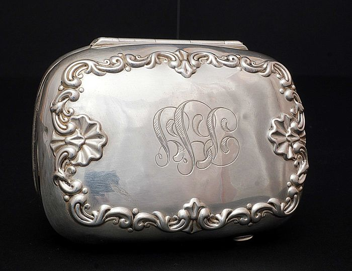 Schoonheidsspecialist Box - .925 zilver - Whiting Manufacturing & Co - V.S. - ca 1900