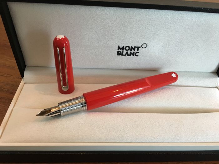 Montblanc - M Red fountain pen
