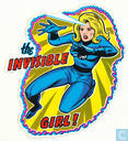 The invisible girl !