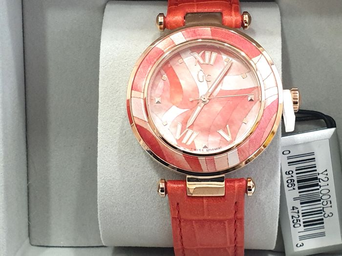 """Guess - """" NO RESERVE PRICE """" Gc Lady Chic - Y21005L3 - Swiss Made - Nuovo - Garanzia - Dames - 2011-heden"""