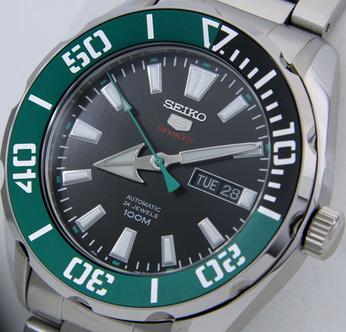 "Seiko - Automatic 24 Jewels ""Green Tone"" - Men - 2018"
