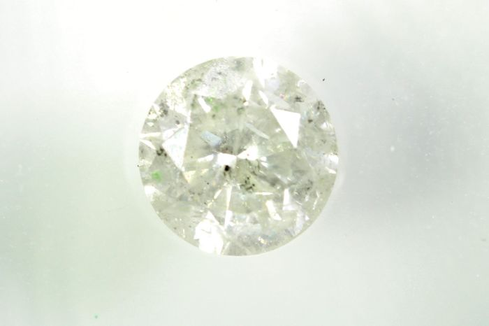 Diamant - 0.86 ct - Brillant - I - P3 - * NO RESERVE PRICE *