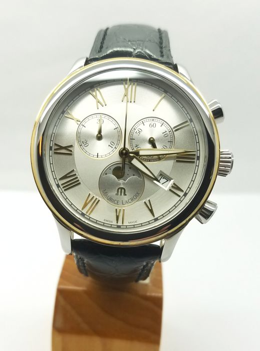 Maurice Lacroix - Les Classiques Moonphase chronograph - LC1138, - NO RESERVE PRiCE - Heren - 2011-heden