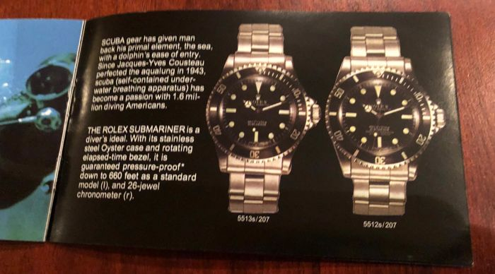 Rolex - submariner  - 2x items  - Unisex - 1960-1969