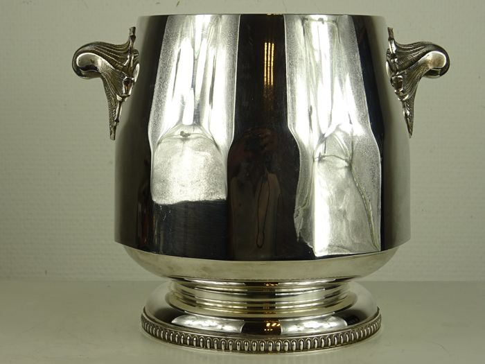 Wine cooler  - Silver plated - France - first half 20th century
