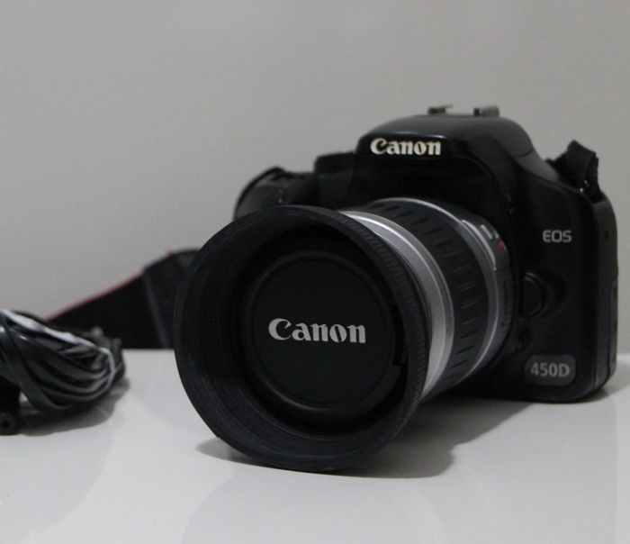 Canon EOS 450D + EF 28-90mm Lens - Catawiki