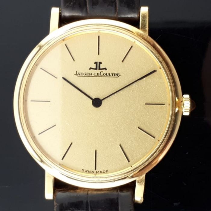 Jaeger-LeCoultre - Vintage Ultra Thin 18K Yellow Gold Men's C.818/3 - Hombre - 1970-1979