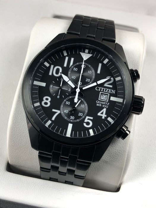 Citizen - Chronograph Black - AN3625-58E - Men - 2011-present