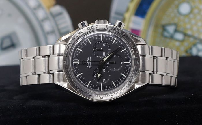 Omega - Speedmaster Broad Arrow Ref.35945000  - Unisex - 2000-2010