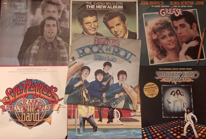 Various Artists/Bands in Pop - Lot Of 7 Great Albums - 2xLP Album (dubbel album), LP's - 1970/1978