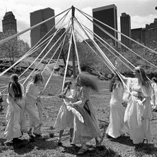 Patrick Ward, 1937 - May Day in Central Park, New York, 1981