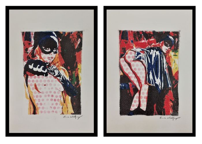 Wildfang, Emma - Original drawings - Catwoman - Come if you dare