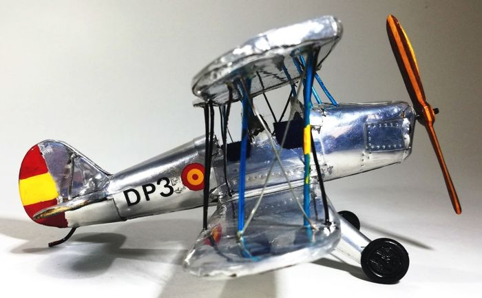 Boeing Stearman PT-17, from the US NAVY, Miniature - Zamac - Catawiki