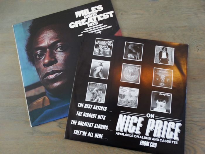 Miles Davis - A strong quintet of M D  albums in the highest condition   Incl  Dutch and Japanese pressings - Multiple titles - LP Album - 1966/1979  -