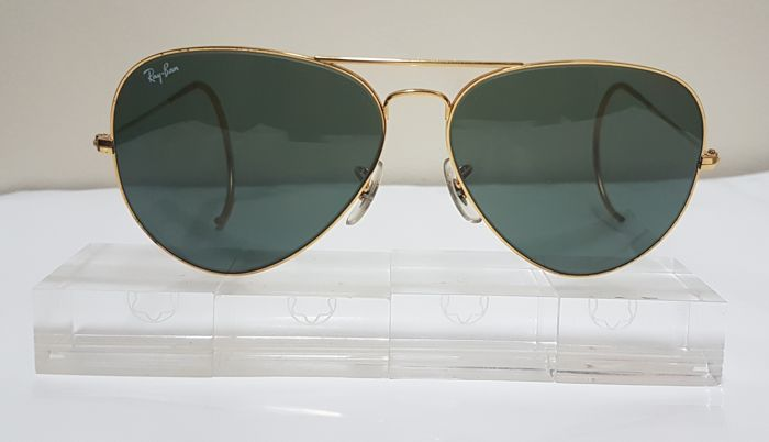 0184ed70efaba Bausch and Lomb Ray Ban USA - Aviator Cable Temple Sunglasses ...