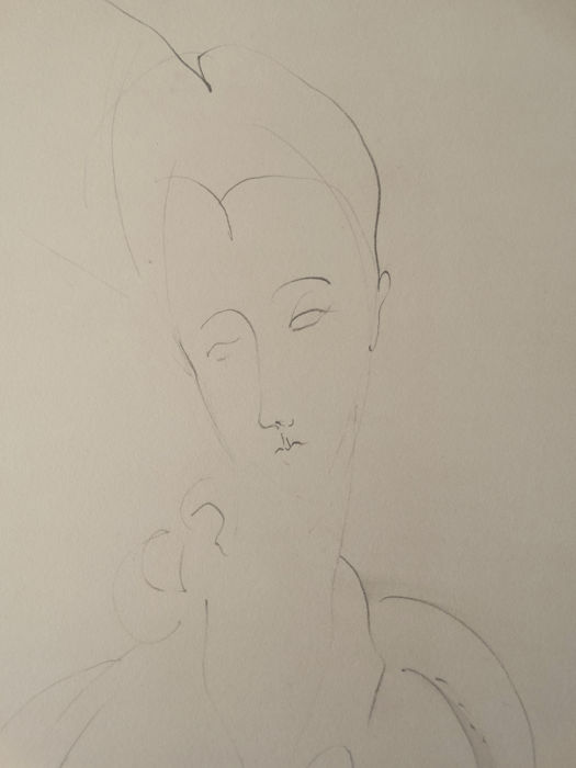 Amedeo Modigliani - Composition