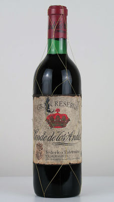 1939 Conde de los Andes Limited Edition Never Marketed (bottled in 1976) - Rioja Gran Reserva - 1 Normalflasche (0,75 Liter)
