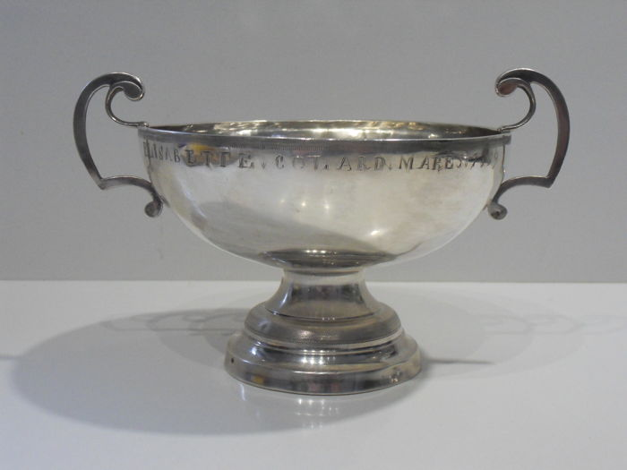 Sterling silver wedding cup - .950 silver - GDE - France - 1850-1899