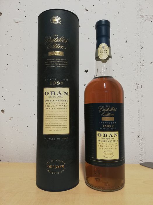 Oban 1987 Distillers Edition - b. 2002 - 0.7 Ltr