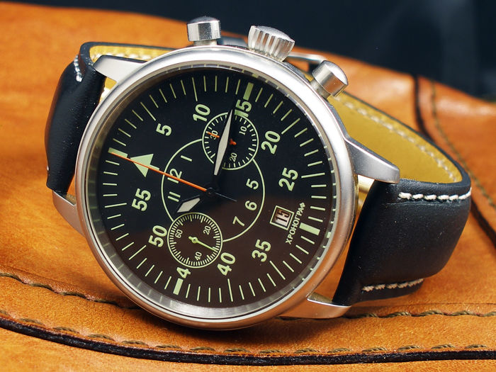 Poljot - B-Uhr Aviator Chronograph - Poljot 3133 movement - Heren - 2000-2010
