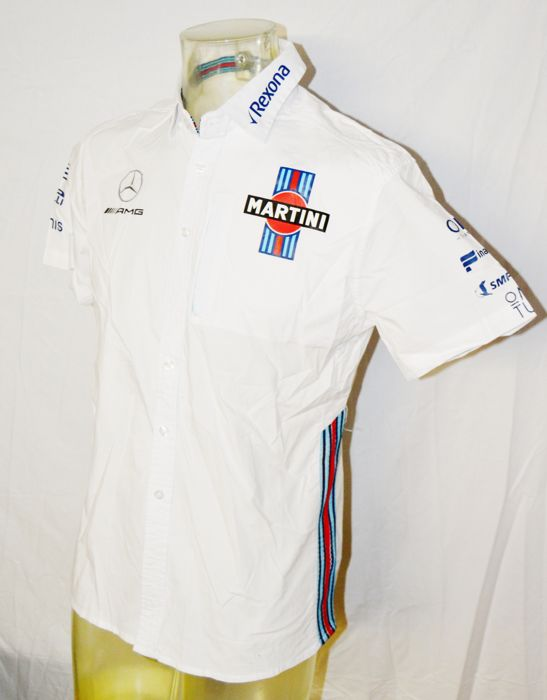 Formule 1 - Martini Williams Mercedes Team / Driver Shirt - Teamkleding - 2017