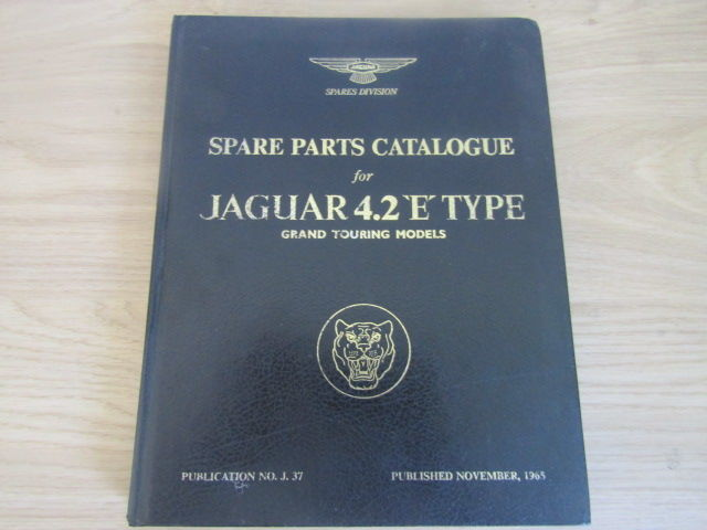 Parts - Jaguar E type spare part cataloque - 1950-1974 (1 items)