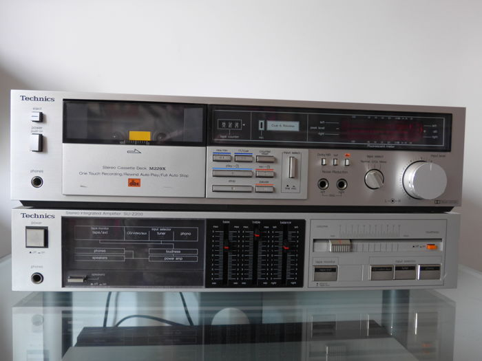 Technics - SU-Z200 + RS-M229X - Multiple models - Hi-Fi set