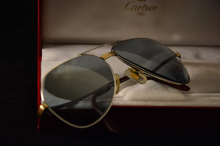 Cartier - Aviator 1983 Cartier 59 - 14 Sunglasses