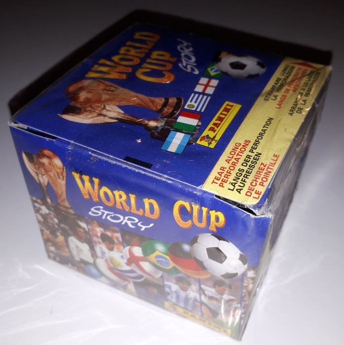 Panini - Original sealed box World Cup Story - 1990