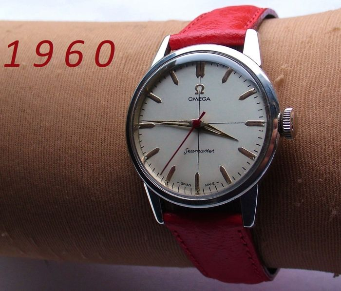 O M E G A - Seamaster '60 - 'Big Crown' + Garantie - Men - 1960-1969