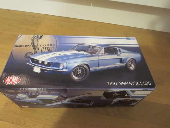 GMP - 1:18 - 1967 Shelby G.T 500 - Shelby Cobra Limited op slechts 996 ooit gemaakt.