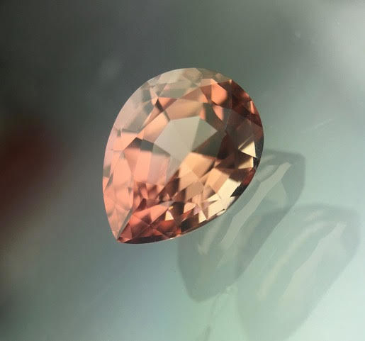 Orange, Pink Tourmaline - 1.67 ct