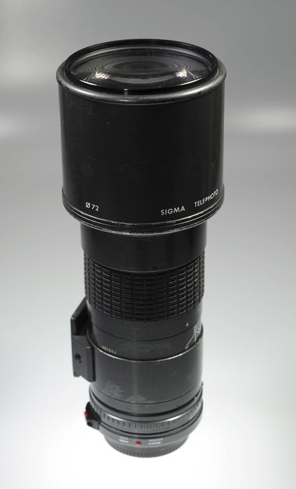 Sigma multi-coated lens 400 mm 1:5.6 (voor Canon FD)