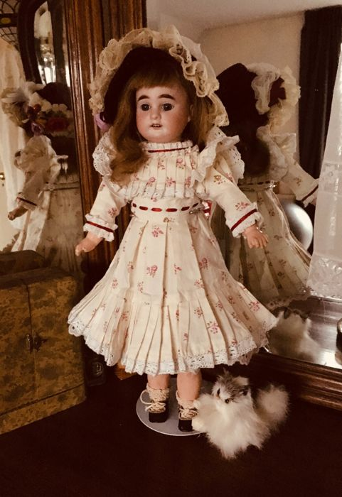 Armand Marseille - voor Franse markt - 1894 - antique doll - 1910-1919 - Germany