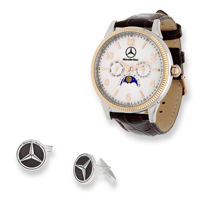 Watch & Cufflink - Mercedes-Benz - Mercedes Benz - 2018-2019
