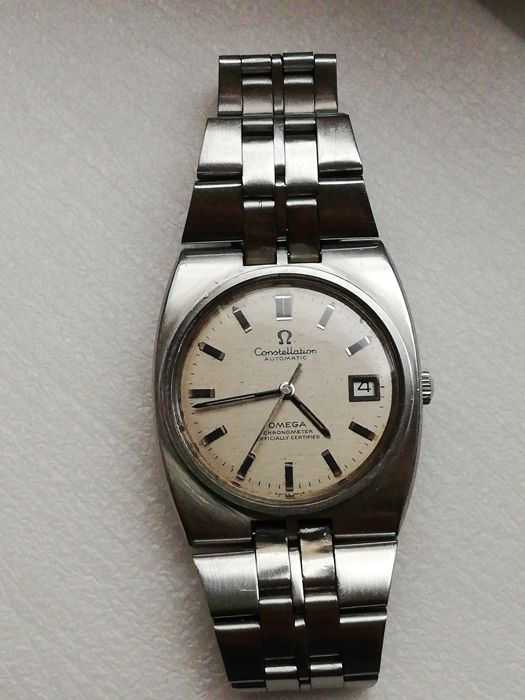 Omega  - Constellation - Cal. 1001 - Hombre - 1980-1989