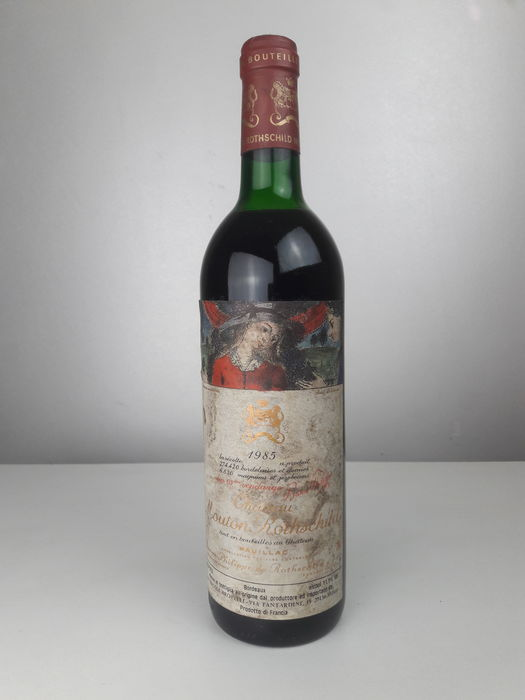 1985 Chateau Mouton Rothschild  - Medoc 1er Grand Cru Classé - 1 Bottle (0.75L)