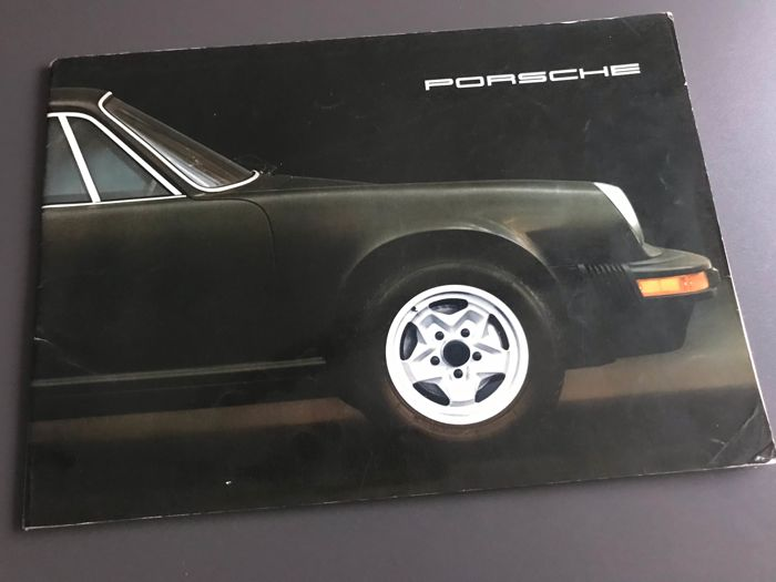 Brochures / Catalogi - Porsche 911 2.7 S + Carrera MFI 210 PK folder groot formaat - 1974-1975 (1 items)