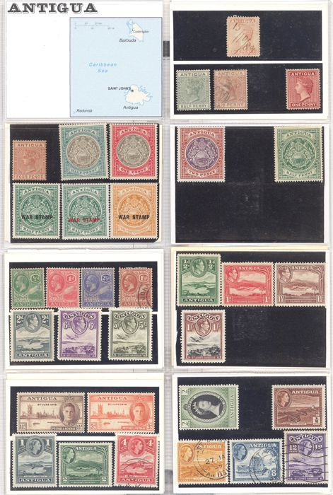 Britse Gemenebest 1875/1969 - Collection of British colonies in the Caribbean
