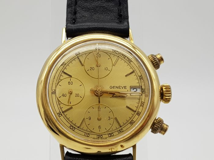 "Geneve - Chronograph - ""NO RESERVE PRICE"" - Men - 1980-1989"
