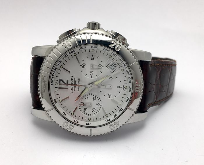 Longines - ADMIRAL Chronograph - L3.621.4 - Heren - 2000-2010